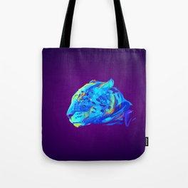 Neon Bars Tote Bag