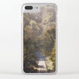 Spruce Ride Clear iPhone Case