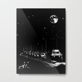 Lunar Convoy Metal Print