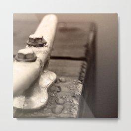 Mason Lake: Dewey Cleat Metal Print