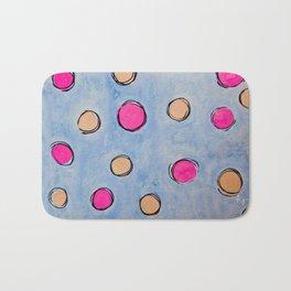 Polka Dot Bath Mat