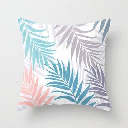 Tropical cute fest Throw Pillow