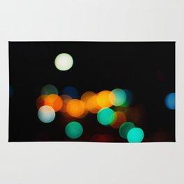Blurred City Lights Rug