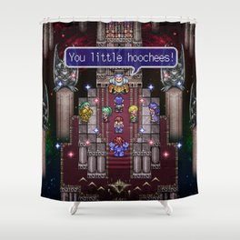 Lufia Too Little Hoochies Shower Curtain