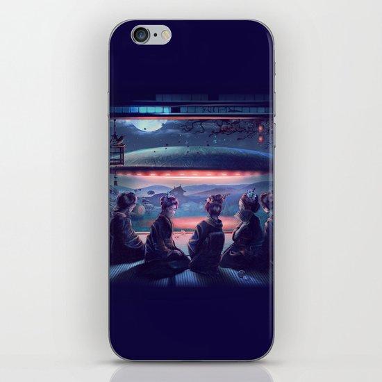 Night Guest  iPhone Skin
