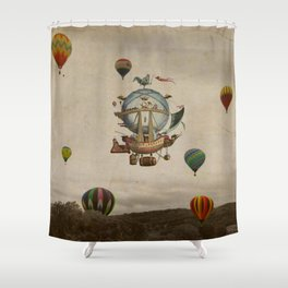 La Minerve 1803  travel in style Shower Curtain