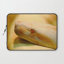 Albino Indian python Laptop Sleeve