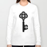 key Long Sleeve T-shirts featuring Key by Thedustyphoenix
