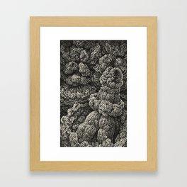 The Orinou Lobuon Singularity and the Speculative Visualization of Infinite Amalgamation, No.3 Framed Art Print