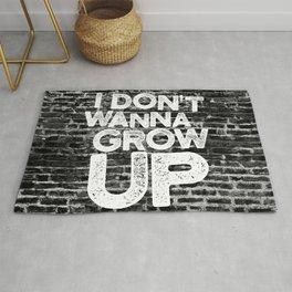 I don't wanna grow up Rug