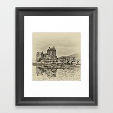Eilean Donan Castle Framed Art Print