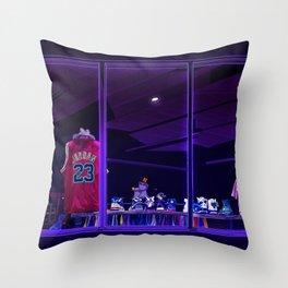 Street Museum Throw Pillow