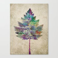 marianna Canvas Prints featuring Like a Tree 2. version by Klara Acel