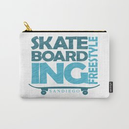 Skateboarding Freestyle San Diego Carry-All Pouch