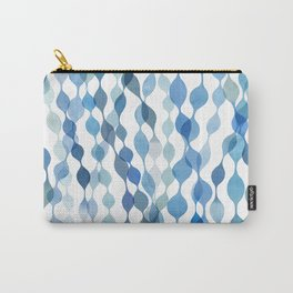 Indigo Sea Forest Carry-All Pouch