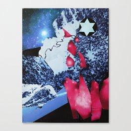 Starlit Flares Canvas Print
