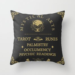 Master of The Mystical Arts Throw Pillow