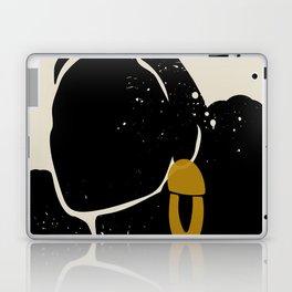 Black Hair No. 4 Laptop & iPad Skin