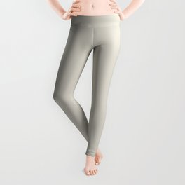 BM Balboa Mist Off White OC-27 - Trending Color 2019 - Solid Color Leggings