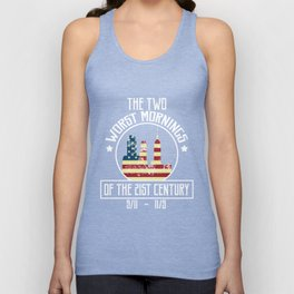 the two worst mornings of the 21st century 9-11 & 11-9- T-Shirt Unisex Tank Top