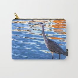 Crane on the River Shannon Carry-All Pouch