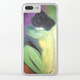 Picasso/Matisse Study Clear iPhone Case