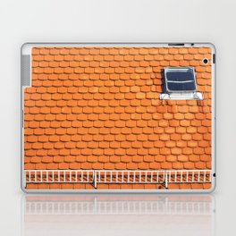 Tiled Roof After Summer Rain Laptop & iPad Skin