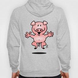 Cheerful little pig Hoody