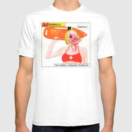 Zombie Lifeguard T-shirt