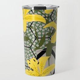 yellow lilies Travel Mug