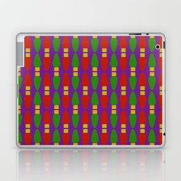 Bulb Wave Royal Laptop & iPad Skin