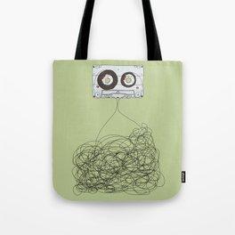 Analog Unravelled Tote Bag