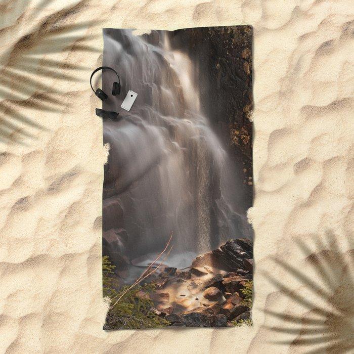 Hadlock Sunbeam Falls Beach Towel