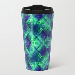 d47: wave deconstruct Travel Mug
