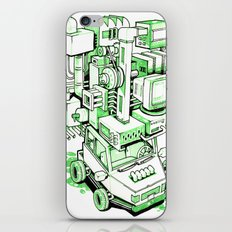 Green Machine Car iPhone & iPod Skin