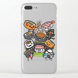 Sushi Rock Clear iPhone Case