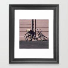 PARIS BIKE 1984 Framed Art Print