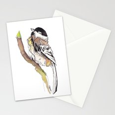 Black Capped Chickadee Stationery Cards