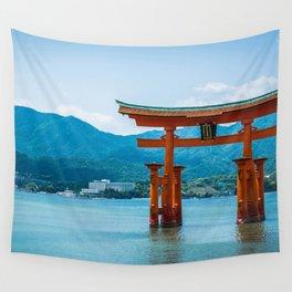 Miyajima Floating Gate Wall Tapestry