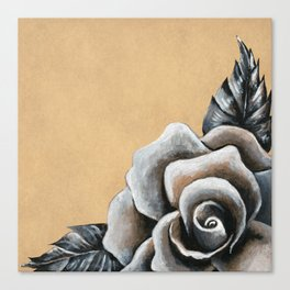 A Rose For My Love Canvas Print