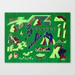 Beat Park Canvas Print