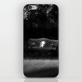 Cupid's Bench iPhone Skin
