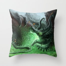 Present for the Birds Throw Pillow