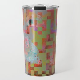In The Belly Of The Beast Of Consumerism Travel Mug