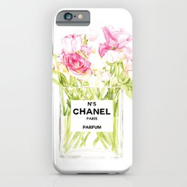 PERFUME FLORAL No.5 iPhone Case