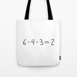 Double Play Equation Tote Bag