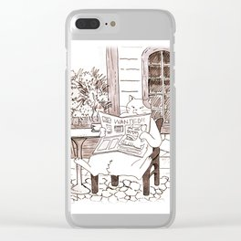 The infamous Renaldo Moon Clear iPhone Case