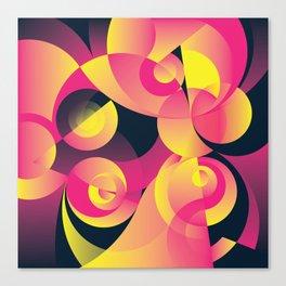 Cosmogony #01 Canvas Print