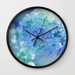 QUEENIE - QUEEN ANNE'S LACE Wall Clock
