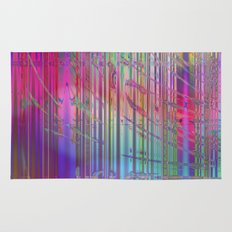 colourful abstract Rug